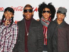 Ray Ray, left, Prodigy, Princeton and Roc Royal are Mindless Behavior.