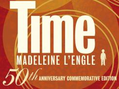 The commemorative edition book jacket of 'A Wrinkle in Time,' Madeline L'Engle classic that was published 50 years ago.