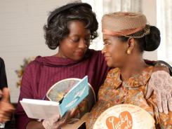 With $170 million, The Help, starring Viola Davis, left, and Octavia Spencer, is the only best-picture Oscar nominee to gross more than $100 million at the box office.