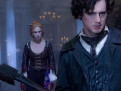 Abe Lincoln (Benjamin Walker) is at war against vampires. Erin Wasson plays the seductive vampire Vadoma.