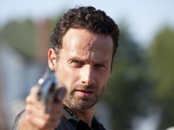 'Walking Dead, starring Andrew Lincoln as Rick, returns to AMC Sunday at 9 ET/PT.