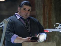 Jorge Garcia plays Doc, an expert on Alcatraz prison in the Fox drama.