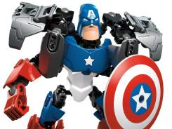 LEGO Captain America is one of several superhero toys getting time in the spotlight at this year's Toy Fair.