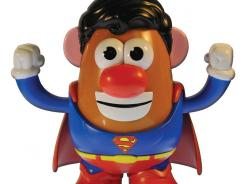 Superman makes his debut as a Mr. Potato Head toy this holiday season.