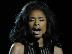 Jennifer Hudson gave an emotional performance of Houston's 'I Will Always Love You.'