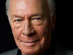 No beginner: Christopher Plummer could win his first Oscar