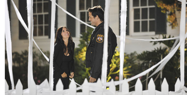 Third time's a charm: Courteney Cox, left, and Josh Hopkins star in Season 3 of 'Cougar Town,' which premieres Tuesday at 8:30 ET/PT on ABC.
