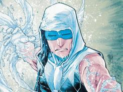 Captain Cold, leader of the Rogues, gets new powers and a new look in the latest issue of The Flash.
