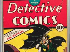 'Detective Comics' No. 27, which first introduced Batman, is part of the Billy Wright collection of ultra-rare comics that will be auctioned on Wednesday.