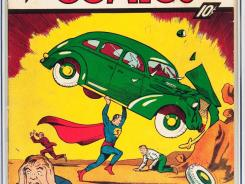 This issue of 'Action Comics' No. 1, which first introduced the world to Superman, sold for about $299,000 Wednesday at an auction in Dallas.