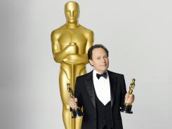 Ninth time's the charm: Billy Crystal hosts the 84th Academy Awards Sunday, marking his ninth time as an Oscar host.