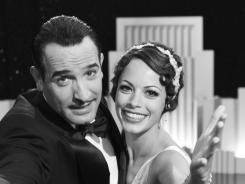 He got the girl, and the SAG: Dujardin, with Berenice Bejo, will likely beat out Clooney again.