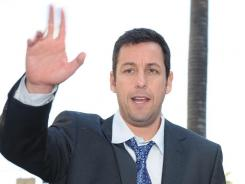 Adam Sandler's movie work in 2011 garnered a record 11 Razzie Award nominations on Saturday that span acting, producing and writing.