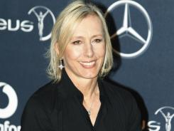 Tennis legend Martina Navratilova takes on a new challenge.