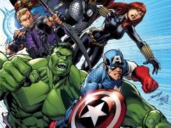 The movie superheroes of 'The Avengers' take center stage in the new comic book 'Avengers Assemble.'