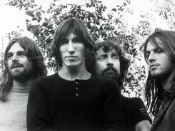 Rick Wright, left, Roger Waters, Nick Mason and David Gilmour were the members of Pink Floyd circa 1974.