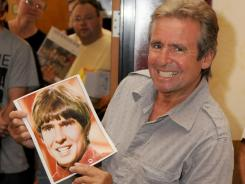 Davy Jones frequently made the rounds of celebrity memorabilia shows, such as this one in Burbank, Calif., in 2009.