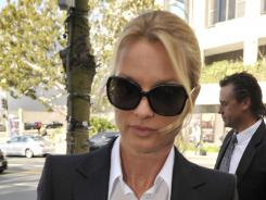 Nicollette Sheridan took the stand on Thursday in her lawsuit alleging wrongful termination for the killing off of her 'Desperate Housewives' character, Edie Britt.