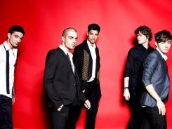 The Wanted: Tom Parker, left, Max George Siva Kaneswaran, Jay McGuiness and Nathan Sykes.