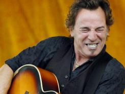 """""""It'll all happen again"""" is one of the messages on Bruce Springsteen's politically pointed new album."""