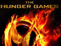 The Hunger Games trilogy tops this month's book sales. The movie comes out March 23.