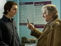 Paul Dano, left, and Robert De Niro star in 'Being Flynn,' based on playwright/poet Nick Flynn's 2004 memoir. The film opens in New York and L.A. today.