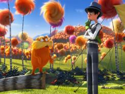 'Dr. Seuss' The Lorax,' featuring Danny DeVito (The Lorax) and Ed Helms (The Once-ler), is the fourth Seuss book to be adapted for the big screen.