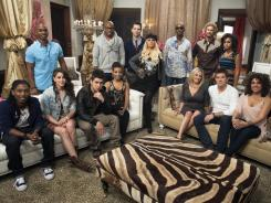 Christina and her team: Seated, from left: Moses Stone, Lindsey Pavao, Jonathas Ojeda, Sera Hill, Hailey Steele and Leland Grant (who perform as a duo), Monique Benabou. Standing, from left: Jesse Campbell, Anthony Evans, Chris Mann, Geoff McBride, Lee Koch, Ashley De La Rosa.