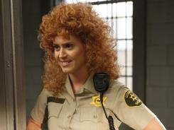 Guest star Katy Perry plays a prison guard who is obsessed with Sabrina on 'Raising Hope.'