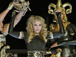 You can catch Madonna's 'Girl Gone Wild' single this weekend on SoundCloud.com.