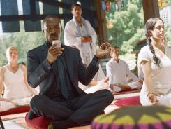 Phoning it in: Eddie Murphy offers a lackluster performance in the unoriginal comedy 'A Thousand Words.'