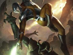 Coming in May, X-O Manowar kicks off the four books Valiant Comics is relaunching this summer.