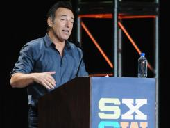 "Bruce Springsteen told assembled fans at SXSW about the moment when he first realized that rock could help him create a ""transformative self."""