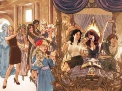 'Fairest' will feature such 'Fables' characters as Bo Peep, Rapunzel and Cinderella.