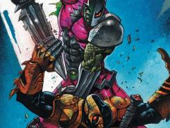 Slade Wilson faces off with his returned son in the finale to an epic story arc in Deathstroke.