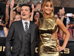 Josh Hutcherson and Jennifer Lawrence thrilled fans at the premiere.