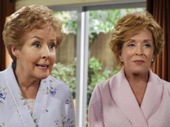 Georgia Engel guest stars as Lyndsey's mom on 'Two and a Half Men.'