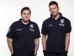 Brothers in blue: Jonah Hill, left, returns to comedy and Channing Tatum takes his first foray into the genre in '21 Jump Street,' opening nationwide Friday.