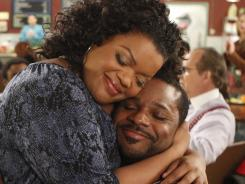 Yvette Nicole Brown and Malcolm-Jamal Warner star in 'Community.'