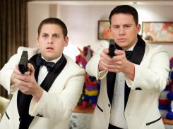 '21 Jump Street,' starring Jonah Hill, left, and Channing Tatum, earned a shot at a sequel.