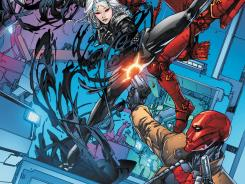 Batman's former sidekick and pals take on all comers in Red Hood and the Outlaws.