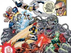 Comics legend Stan Lee debuts an all-new group of superheroes with his series Mighty 7.