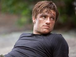 Peeta Mellark (Josh Hutcherson) in a scene from 'The Hunger Games.' The movie continued its strong run despite it being Easter weekend.