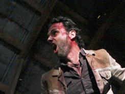 Andrew Lincoln and his 'Walking Dead' castmates went out on a high note on Sunday.