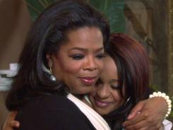 Oprah Winfrey's interview with Whitney Houston's daughter, Bobbi Kristina, attracted 3.5 million viewers, record audience for OWN.