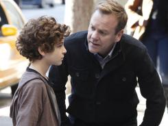 Kiefer Sutherland gives a rock-solid performance as Martin Bohm, the father of mute Jake, played by David Mazouz.