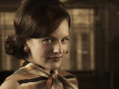 Peggy Olson (Elisabeth Moss) is coming into her own at work.