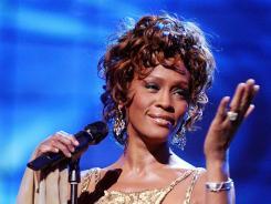 Las Vegas, 2004: Whitney Houston at the World Music Awards.