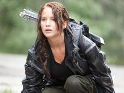 'The Hunger Games,' starring Jennifer Lawrence, opens nationwide Friday on about 10,000 screens.