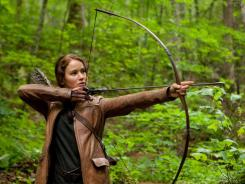 'The Hunger Games,' starring Jennifer Lawrence, was the runaway hit of the weekend.
